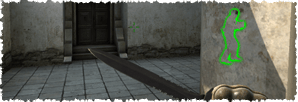 Enemies will also be shown through walls, when the ESP in our CSGO Hack for Mac is enabled